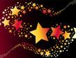 shooting star vector illustration