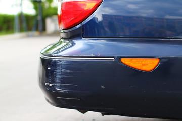 Schaden an einem Auto