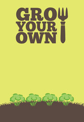 Grow Your Own poster_Broccoli