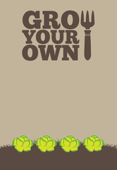 Grow Your Own poster_Lettuce