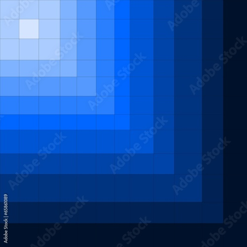Blue diagonal illusion