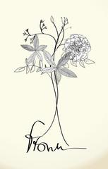 Decorative floral background Vector, EPS 10