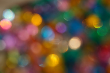 Abstract background - bright lights bokeh