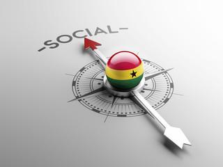 Ghana Social Concept