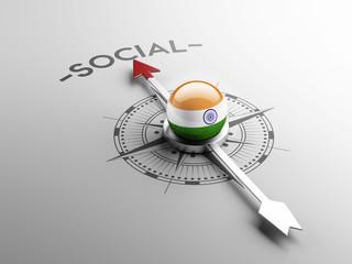 India Social Concept