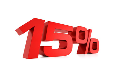 Serie Prozente - 15 Prozent