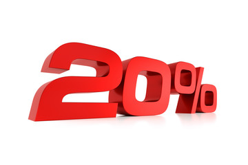 Serie Prozente - 20 Prozent