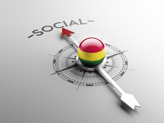 Bolivia Social Concept