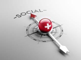 Switzerland Social Concept