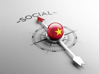 Vietnam Social Concept