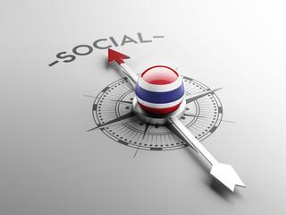 Thailand Social Concept