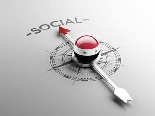 Syria Social Concept