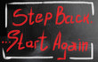 start again concept