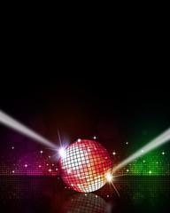 Music Disco Background