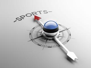 Estonia Sports Concept