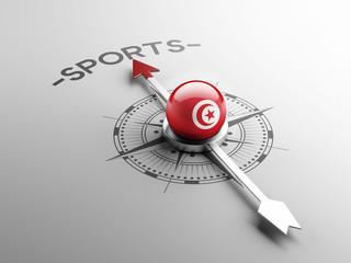 Tunisia Sports Concept