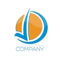 логотип D