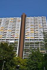 Modern architecture in Alterlaa, Vienna, Austria
