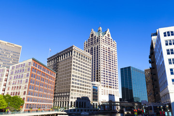 Downtown Milwaukee