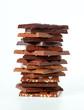 Pile of chocolate