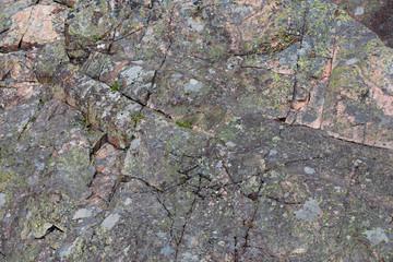 The mountain rock,