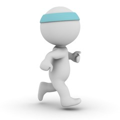 3D Character Jogging