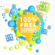 free art 100 percent freeshipping icon