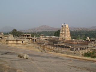 Old temple in Hampi, India