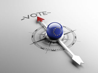 European Union Vote Concept