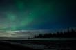 Aurora Kissed Clouds