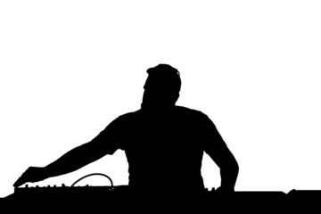 DJ Silhouette