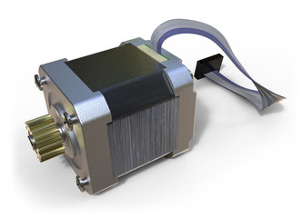Stepper electric motor