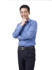 portrait of asian businessman