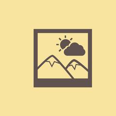 Inage Flat Icon