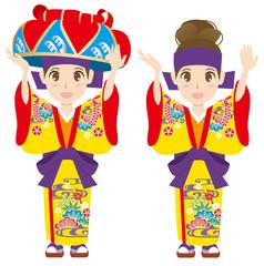 沖縄 琉装
