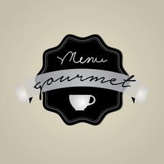 gourmet frame vector, EPS 10
