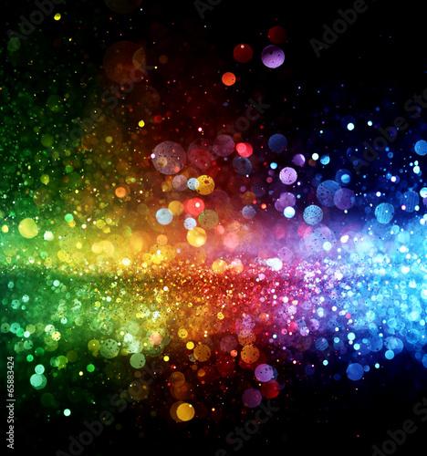Zdjęcia na płótnie, fototapety, obrazy : Rainbow of lights