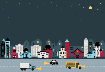 City illustration D