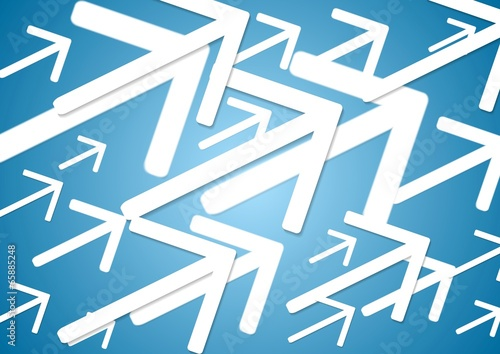 Big arrows vector background