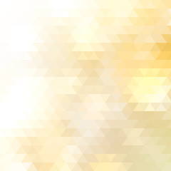 Abstract Yellow Triangle Geometrical. + EPS10