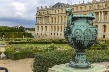 Versailles Chateau and gardens view