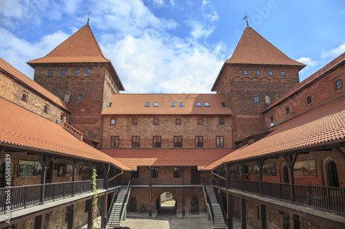 The Castle of Teutonic Order in Nidzica, Poland