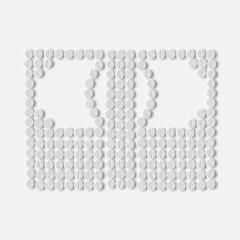 pills concept: money