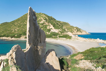Punta Molentis Cagliari Sardegna