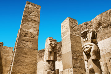 Obelisk of Queen Hapshetsut in Karnak, Egypt