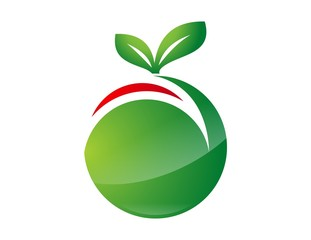 logo symbol icon guava and fruits