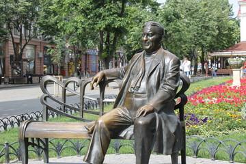 Monument to Leonid Utyosov in Odessa