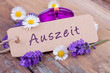canvas print picture - Auszeit mit duftendem Lavendel - Wellness