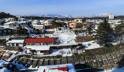 Kusatsu hot spring village
