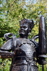 Chinese god warrior statue or Four Heavenly Kings